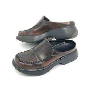 Dansko Womens Size 6.5 Mules Clogs Shoes Brown